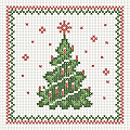 GINA Xmas Coaster 90x90mm LINCLASS - 1500pcs.