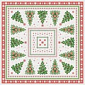 GINA Xmas Table Cloths 80x80cm LINCLASS-Airlaid - 60pcs.