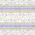 FRIEDA Table Cloths 80x80cm LINCLASS purple/green - 60pcs.