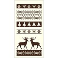 BASTI Xmas Pocket Napkins 40x40cm 1/8 LINCLASS brown - 300pcs.