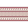BASTI Xmas Table Runners 40cmx24lfm LINCLASS bordeaux - 4pcs.