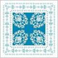 PASCAL Coasters 90x90mm 9ply TISSUE blue - 1500pcs.
