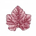 WINE LEAF Coasters Ø120mm 80g SAUGSTOFF burgundy - 1000pcs.