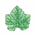 WINE LEAF Coasters Ø120mm 80g SAUGSTOFF green - 1000pcs.