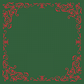POMP Xmas Table Cloths 80x80cm LINCLASS green/red - 60pcs.