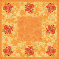 ROMY Table Cloths 80x80cm LINCLASS-Airlaid orange - 60pcs.