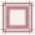 INA Table Cloths 80x80cm LINCLASS-Airlaid burgundy - 60pcs.