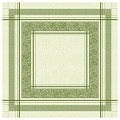 INA Table Cloths 80x80cm LINCLASS-Airlaid green - 60pcs.