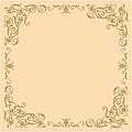 POMP Table Cloths 80x80cm LINCLASS ivory/gold - 60pcs.