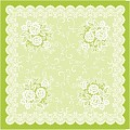 FRANZISKA TableCloths 80x80cm LINCLASS-Airlaid green - 60pcs.