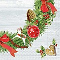Napkins ADVENT 40x40cm 1/4fold TISSUE 3-ply - 600pcs.