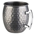 Barrel Mug MOSCOW MULE Ø9cm/height10cm Stainless Steel - 1pc.