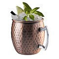 Barrel Copper Mug Ø9cm/height10cm Stainless Steel copper - 2pcs.