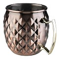 Barrel Mug MOSCOW MULE Ø9,5cm/height10cm StainlessSteel copper -