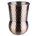Barrel JULEP MUG Ø8cm/height11,5cm Copper Look - 1pc.