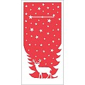 Xmas Pocket Napkins LENNERT 1/8fold LINCLASS red - 300pcs.