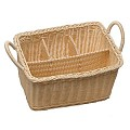 Basket ECONOMIC 26x18cm/height15cm PP-Plastic beige - 1pc.