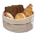 Bread Basket 20x15cm/height7cm COTTON beige - 1pc.
