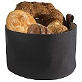 Bread Basket Ø20cm/Height13,5cm Synthetic Fibre dark - 1pc.