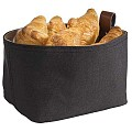 Bread Basket 19x11cm/Height10,5cm Synthetic Fibre dark - 1pc.