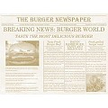 PlaceMats NEWSPAPER 40x30cm Paper beige - 500pcs.