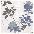 CHRISSY Napkins 40x40cm 1/4fold TISSUE bluegrey - 600pcs.