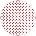 Coasters ANTONIA Ø90mm round TISSUE with PE red - 1000pcs.