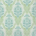 DORIS Napkins 40x40cm 1/4fold TISSUE green/blue - 600pcs.