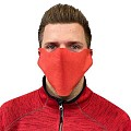Face Masks M1 14x40cm PP-VLIES red - 2000pcs.