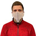 Face Masks M1 14x40cm PP-FLEECE white - 2000pcs.