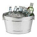Beverage Tub TIN 40x28cm/height22cm Metal/PVC - 1pc.