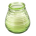 Flairlights-Candles 3x6erTray BurningTime 60h green - 18pcs.
