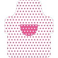 LITTLE COOK Kid Aprons 57cmx68cm AIRLAID pink - 100pcs.