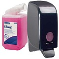 Foam Soap Normal 1liter KLEENEX pink - 12pcs/cartouche