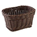 Basket rectangular 17x11cm/height9cm PP-Plastic brown - 1pc.