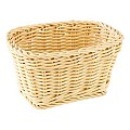 Basket rectangular 17x11cm/height9cm PP-Plastic lightbeige - 1pc