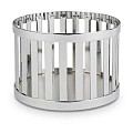 Basket/Riser BASKET Ø15/cm/height10,5cm Metal chrome - 1pc.