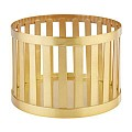 Basket/Riser BASKET Ø15/cm/height10,5cm Metal gold - 1pc.