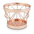 Basket/Riser BASKET Ø8/10,5cm/height8cm Metal kupfer - 1pc.
