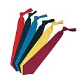 TIES many Colours PES/COTTON black - 1pc.