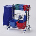 Cleaning Trolley RW2 120ltr. 116x70cm/height105cm - 1pc.