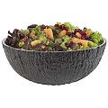 Bowl COCONUT 2,2liter Ø24cm/height9,5cm MELAMIN black - 1pc.