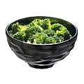 Bowl FUSION Ø17cm/height8,5cm MELAMIN black - 1pc.