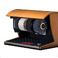 Shoe shine machine NATURE 50x30cm/height36cm walnut light - 1pc.