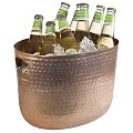 Wine Champagne Cooler 30x23,5cm/height23cm ALUMINIUM - 1pc.
