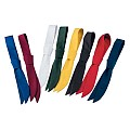 SERVICE TIES many Colours PES/COTTON white - 1pc.
