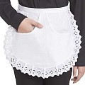SERVING-APRONS Large Form Cotton white - 1pc.