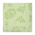 Napkins LISBOA 33x33cm TISSUE 3-ply green - 600pcs.