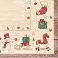 GRACE Napkins Christmas 40x40cm LINCLASS red/green - 300pcs.