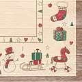 GRACE Napkins Christmas 40x40cm TISSUE red/green - 600pcs.